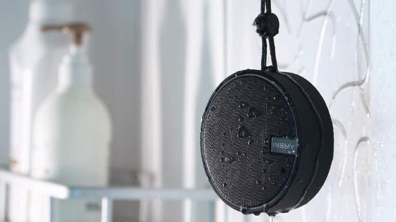 Insmy IPX7 Waterproof Shower Speaker