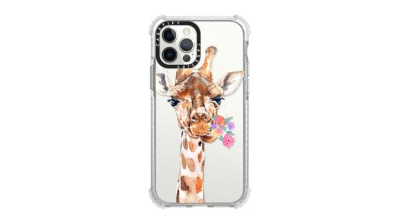 Casetify Giraffe With Flowers Phone Case