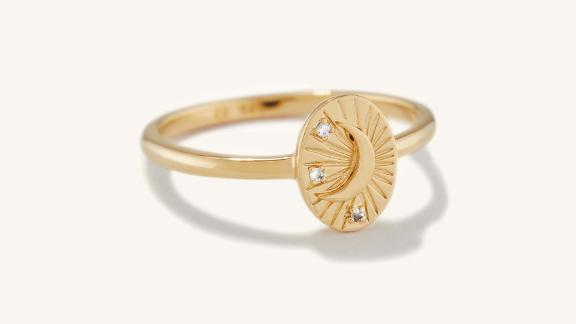Mejuri Tarot Moon Ring