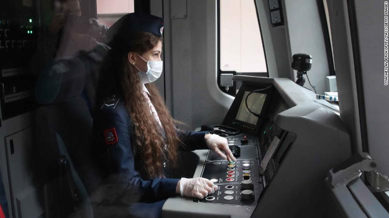 Women are finally driving Moscow's subway trains after a decades-long ban