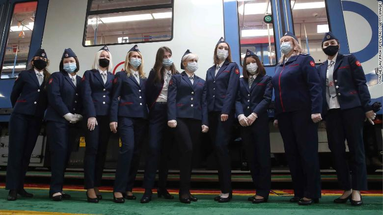 Russia's Ministry of Labor issued a decree allowing women to work on the metro in 2019.