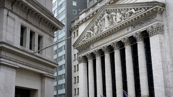 FILE - The New York Stock Exchange is seen in New York, Monday, Nov. 23, 2020.   Stocks are ticking higher on Wall Street Wednesday, Dec. 23,  following a mixed set of reports on the economy.   (AP Photo/Seth Wenig)