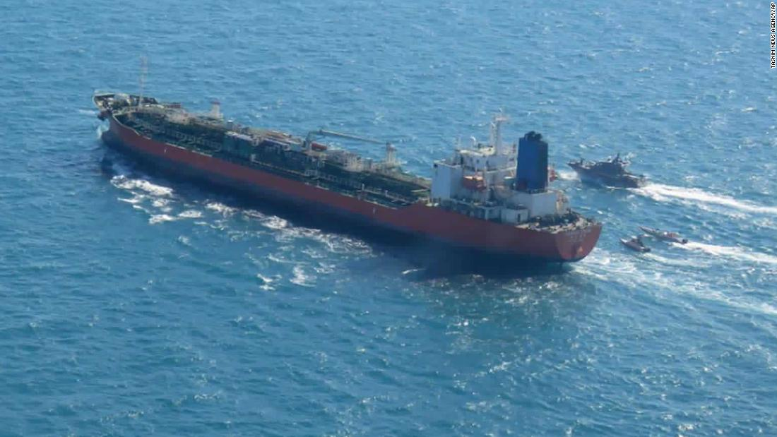 Armed Iranian troops boarded South Korean tanker, ship's owner says
