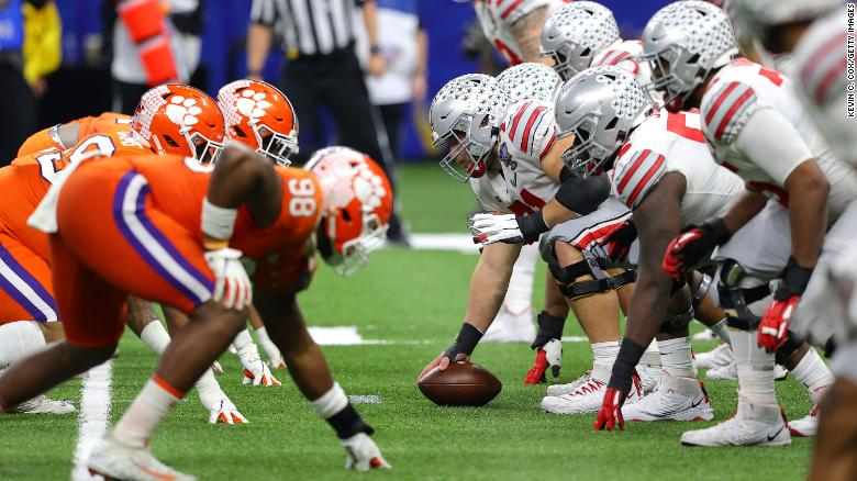 The academic gap between Black and White college football players grew in 2020, report says