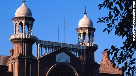 An image of the Lahore High Court, in Punjab, Pakistan.