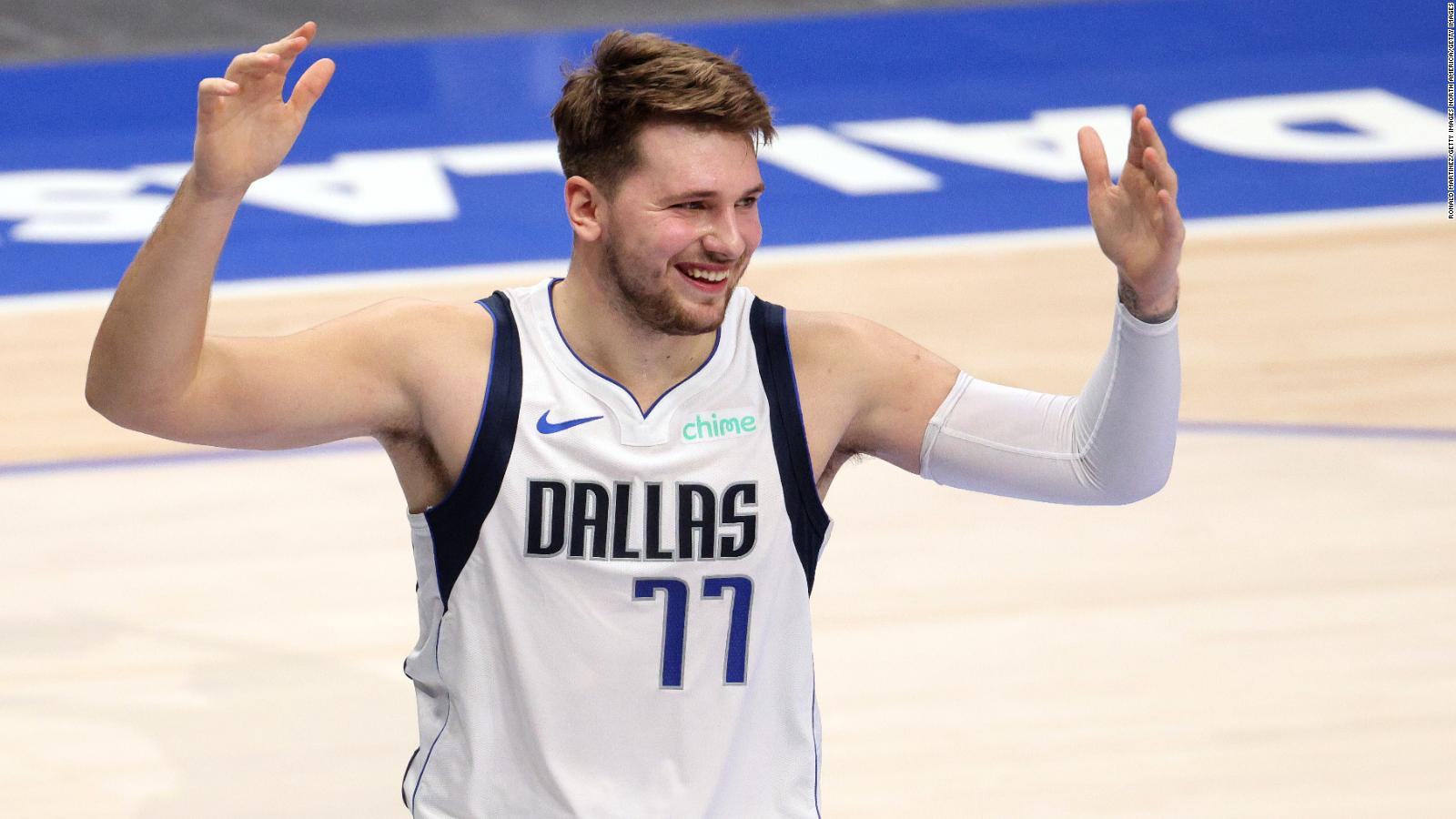 NBA: Luka Doncic creates another piece of history as he outbattles James  Harden - CNN