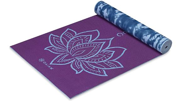 Premium 6mm Print Reversible Extra-Thick Yoga Mat