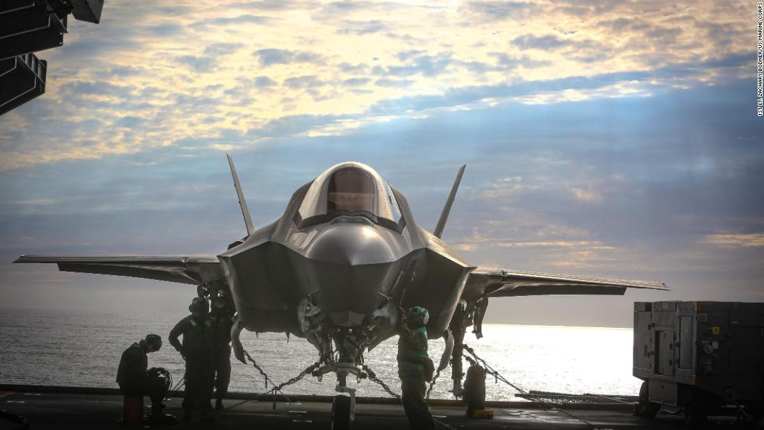 US warplanes fly first combat missions off foreign aircraft carrier since World War II - CNN