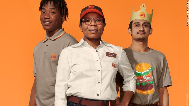 New crew uniforms.