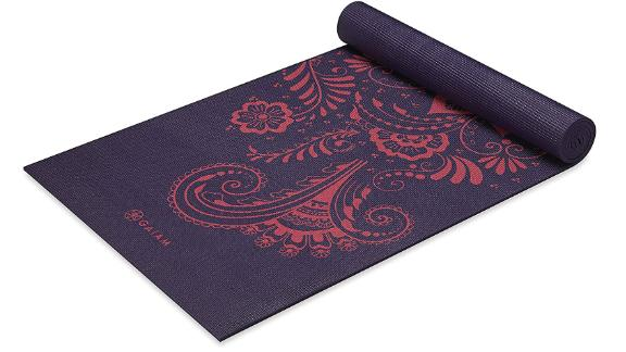 Gaiam 6 mm extra thick yoga mat