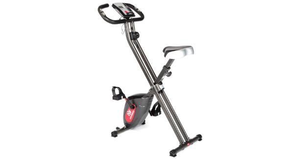 Advenor Folding Fitness Bike With LCD Monitor