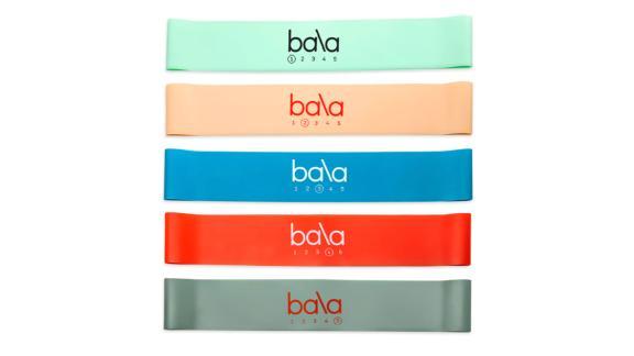 Bala Resistance Bands, 5-Pack