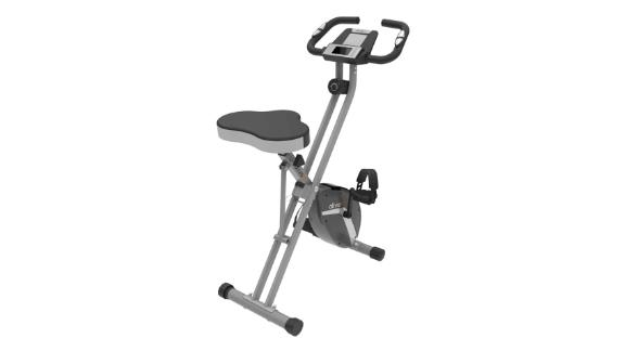 Ativafit collapsible magnetically upright bicycle stationary bicycle