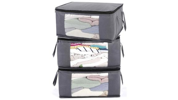Abo Gear Storage Containers, 3 Pack