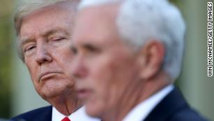 Trump pressured Pence to engineer a coup, then put the VP in danger, source says