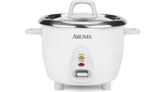 Aroma Housewares Stainless Rice Cooker and Warmer