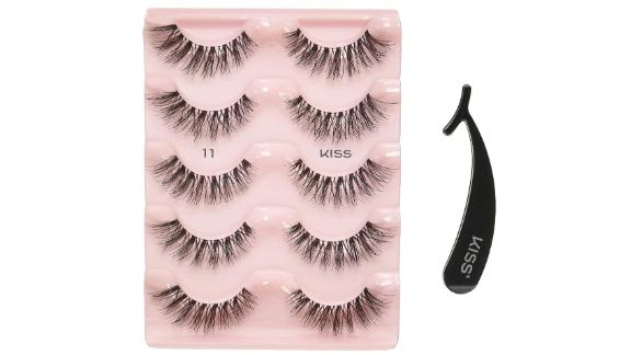 Kiss Products Ever EZ Lashes, 5-Pack