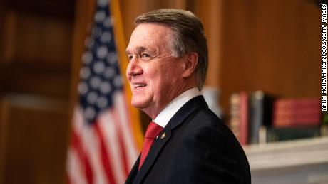 David Perdue is submitting documents for the US Senate race in Georgia in 2022