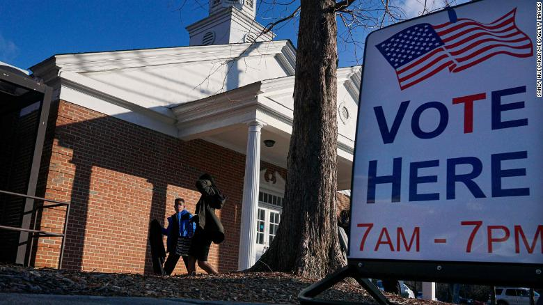 Georgia state GOP lawmakers introduce voting restriction legislation