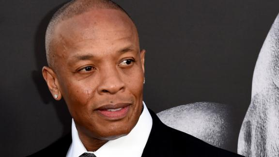 LOS ANGELES, CA - JUNE 22:  Producer Dr. Dre arrives at the premiere screening of HBO