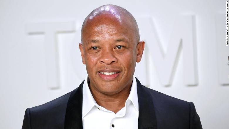 Dr. Dre says he's hospitalized but 'doing great'