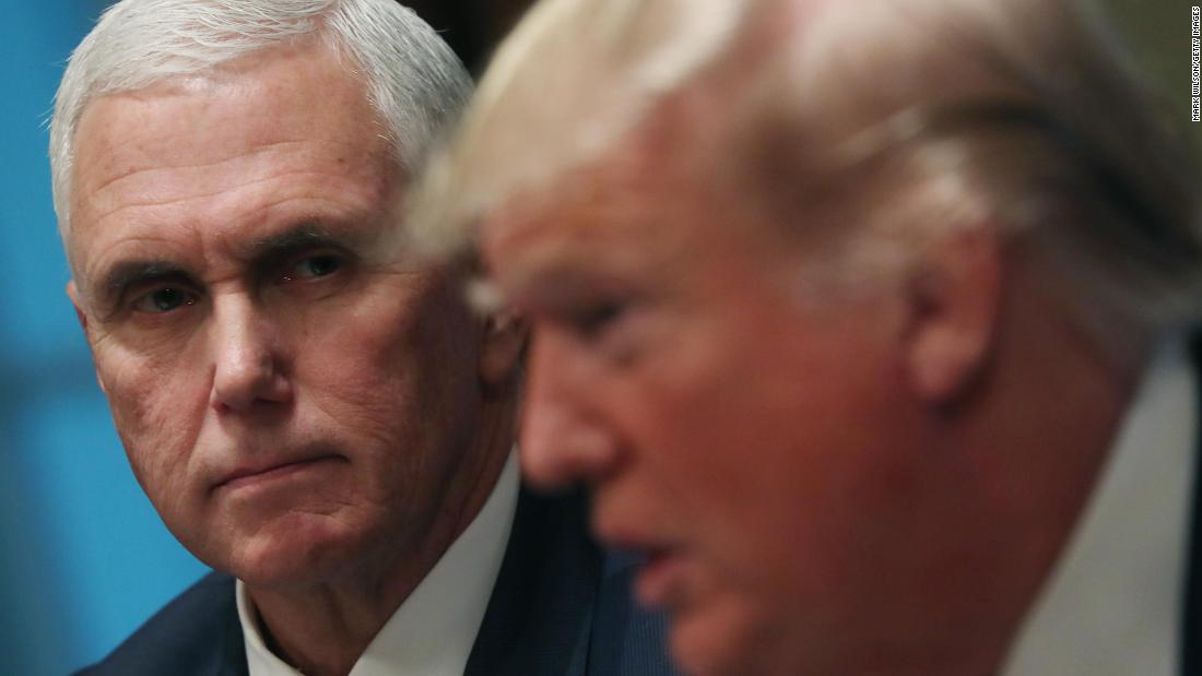 Pence and Trump's relationship is 'amicable,' source says