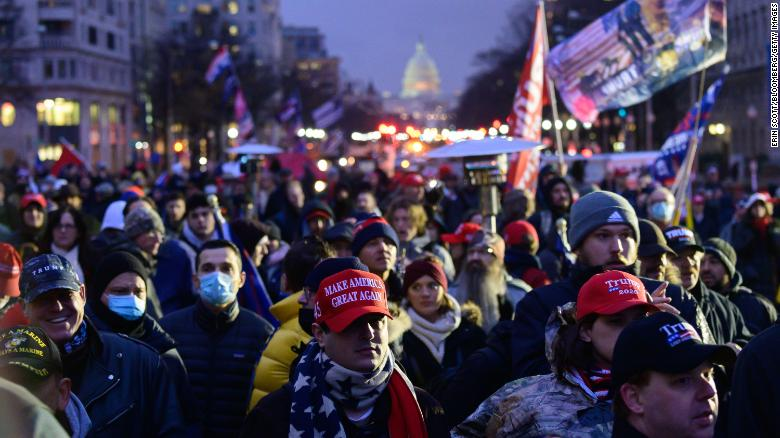 Authorities on high alert as pro-Trump supporters flood DC to protest election