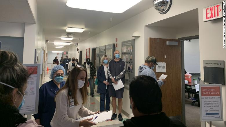 When a freezer broke in a California hospital, officials jumped to action to administer more than 800 vaccines in just about 2 hours