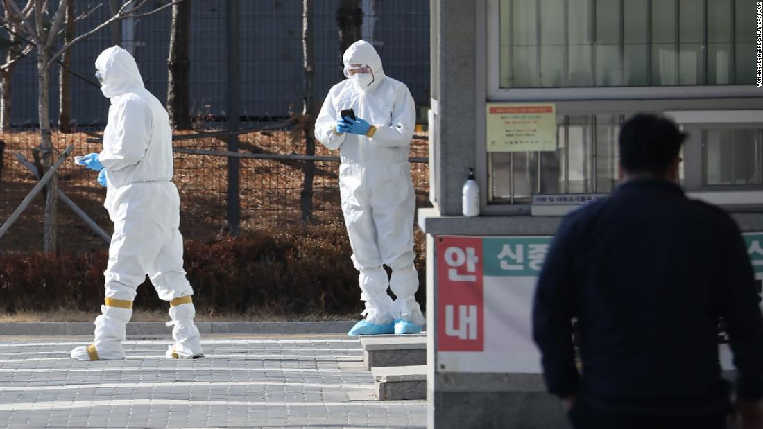 South Korea will test every prisoner in the country for Covid-19