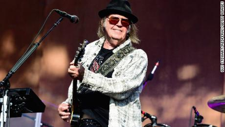 Neil Young has sold a large stake in his 1,180 songs