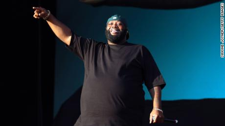 Killer Mike of Run the Jewels performs live on stage during the All Points East Festival at Victoria Park on May 31, 2019 in London, England.