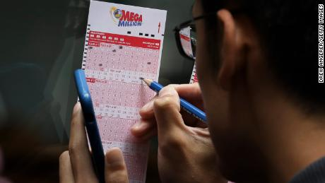 The Mega Millions prize to be drawn Friday night is set to be the second-largest in the history of that game.