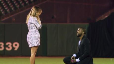 Relive the famous Kimye proposal