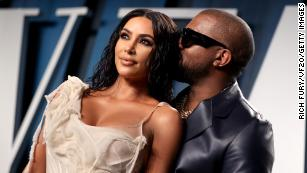 In pictures: Kim and Kanye