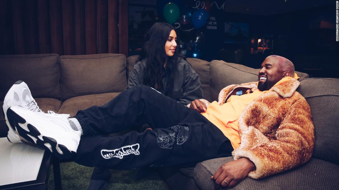Kim Kardashian says she'll love Kanye West 'for life' in birthday post – CNN