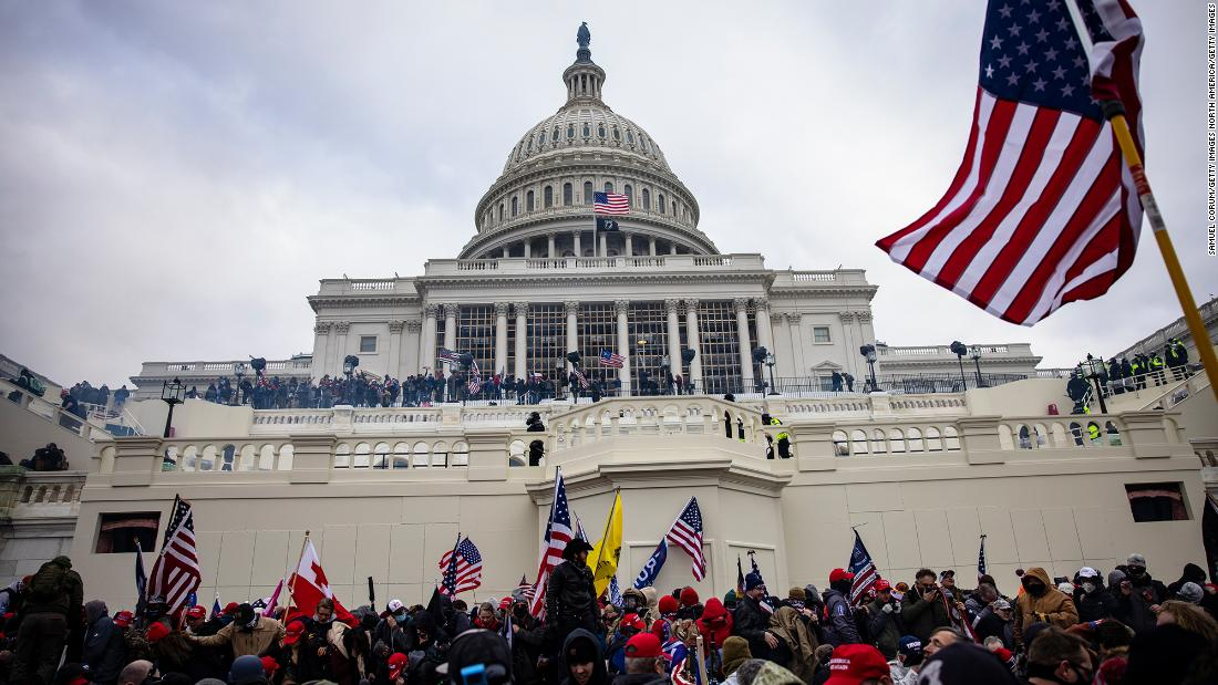 (2) 3 people died from medical emergencies near Capitol grounds during riots – CNN