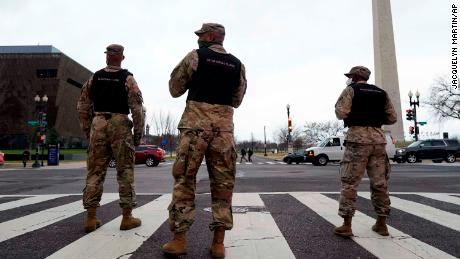 Nearly 6,200 National Guard are being mobilized to provide security to DC following Capitol riot