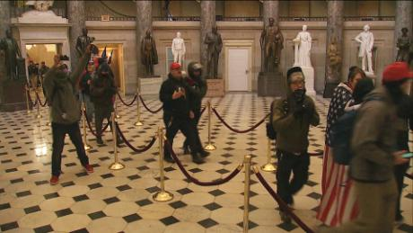 See stunning video of rioters inside Capitol - CNN Video