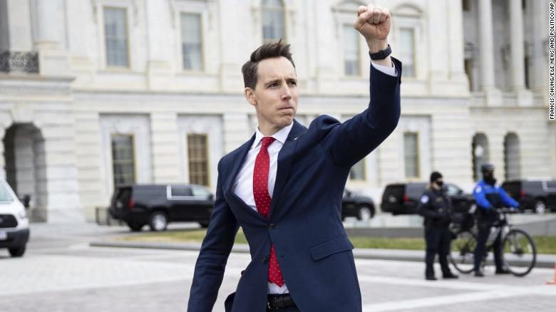 How Josh Hawley's political ploy backfired massively