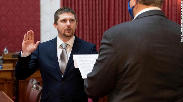 West Virginia GOP state lawmaker who stormed US Capitol faces criminal charge
