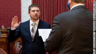 Former West Virginia House of Delegates member Derrick Evans