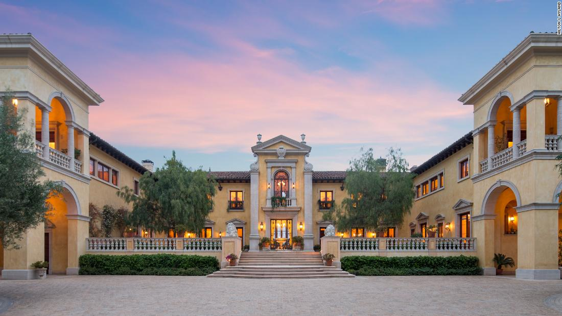 0M Beverly Hills mansion could become most expensive house ever sold at auction