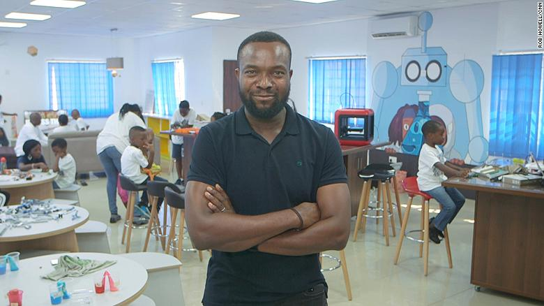 Bosun Tijani founded CcHUB in 2010.