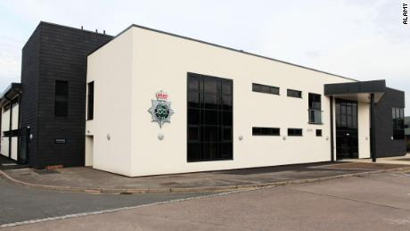 The headquarters of Staffordshire Police, in central England