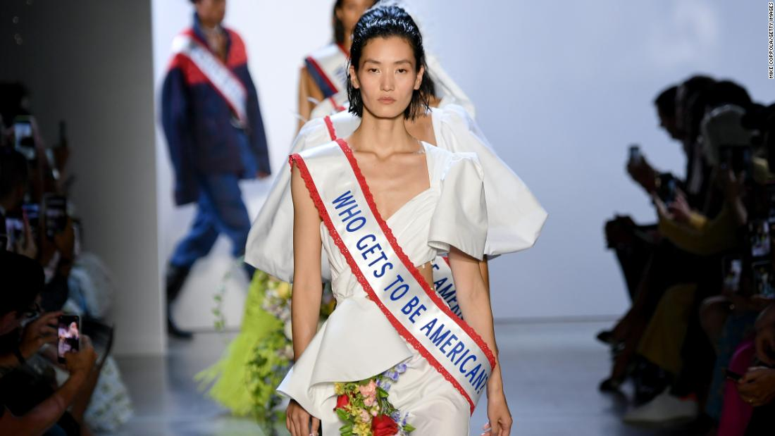 Fashion community takes stand against Asian hate crimes in the US