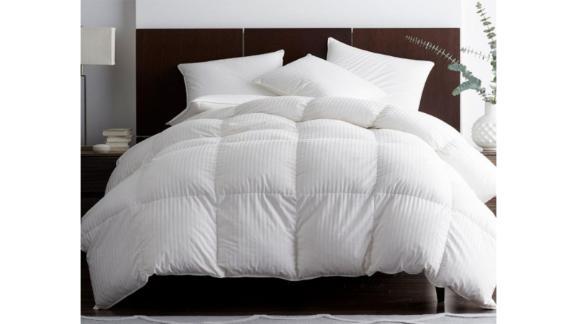 Legends Luxury Baffled Damask Goose Down Comforter