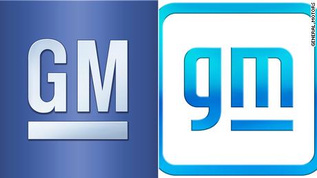 Логотип GM практически не изменился с 1964 года. Новый логотип находится справа.
