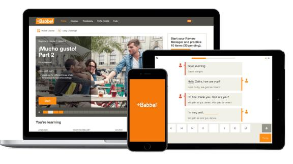 Babbel Language Software