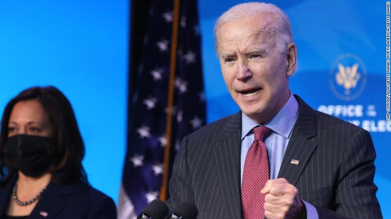 Biden to receive second dose of coronavirus vaccine Monday
