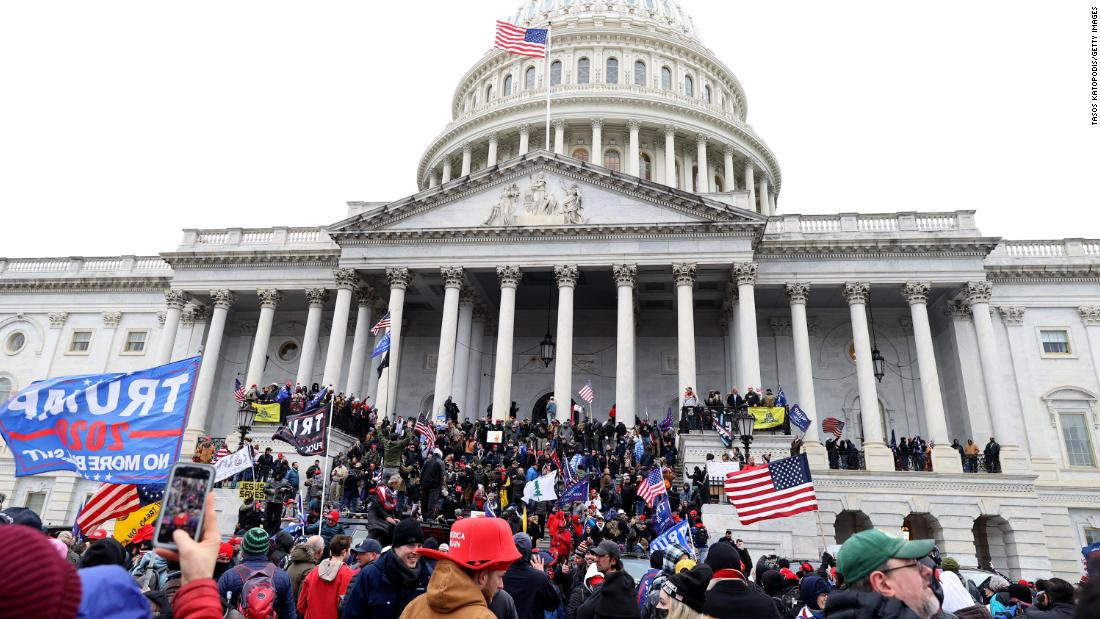DC police made far more arrests at the height of Black Lives Matter protests than during Capitol clash